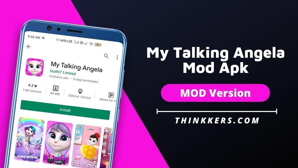 My Talking Angela Mod Apk