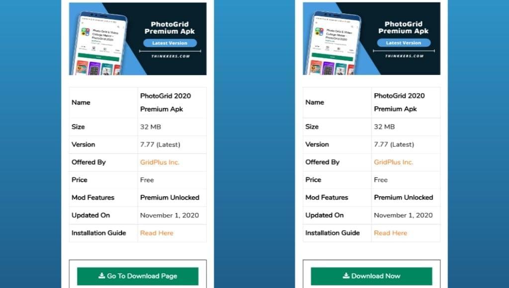 Download PhotoGrid Premium Apk