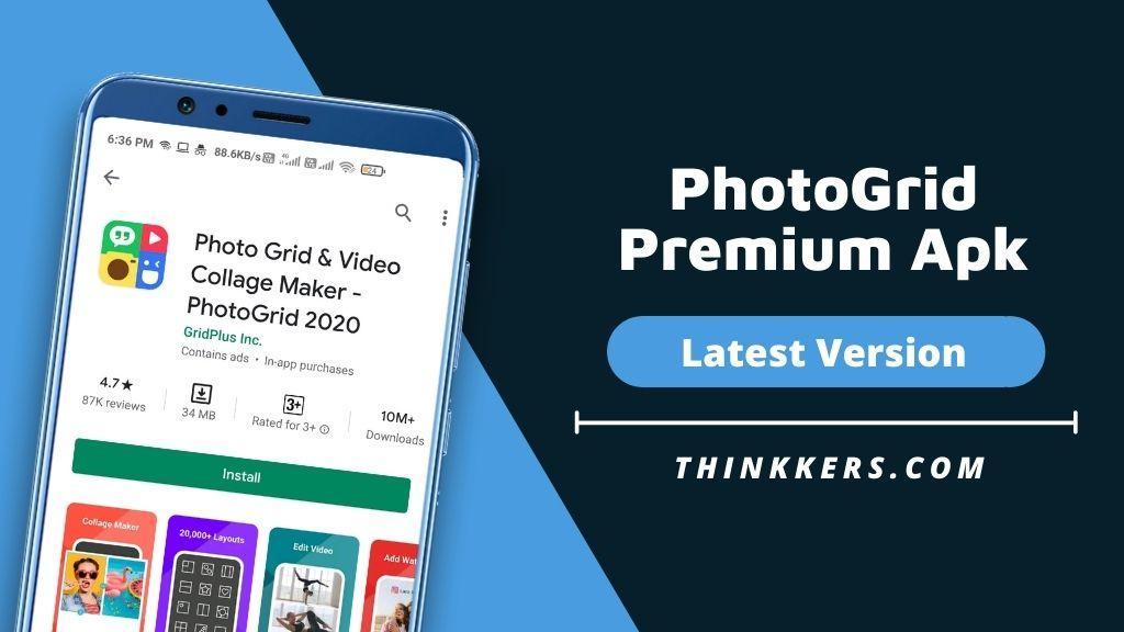 PhotoGrid Premium Apk
