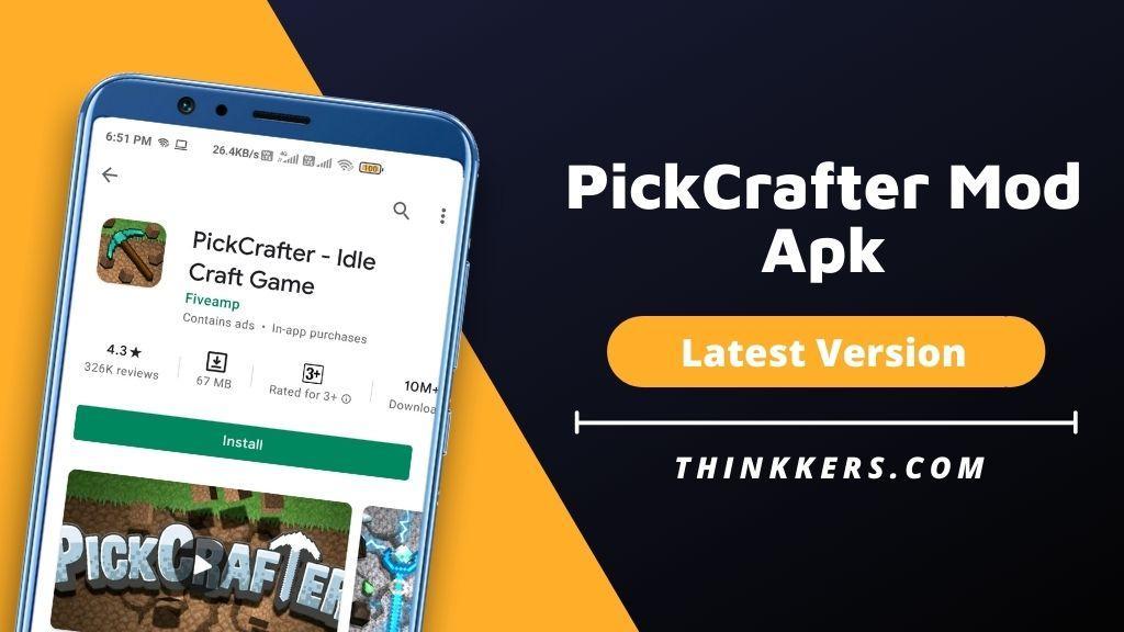 Pickcrafter Mod Apk