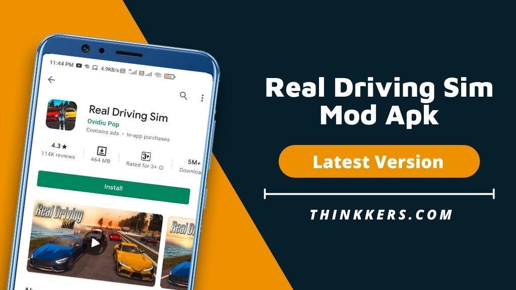 Real Driving Sim Mod Apk v4.5 (All Cars Unlocked)