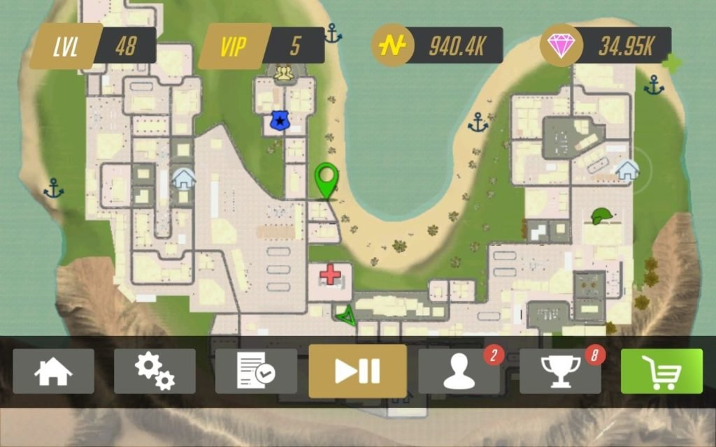 Real Gangster Crime 2 Maps
