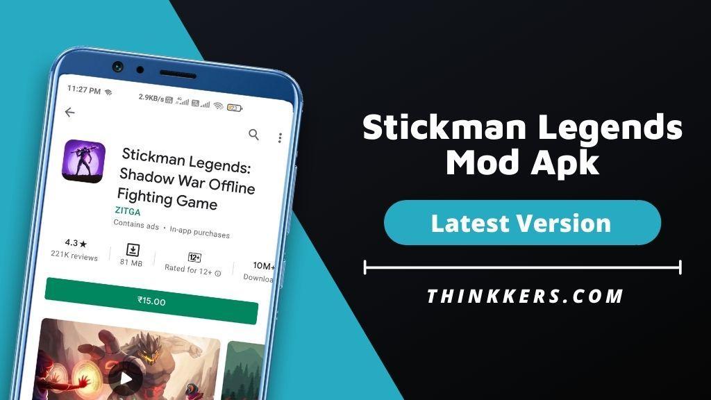 Stickman Legends Mod Apk - Copy