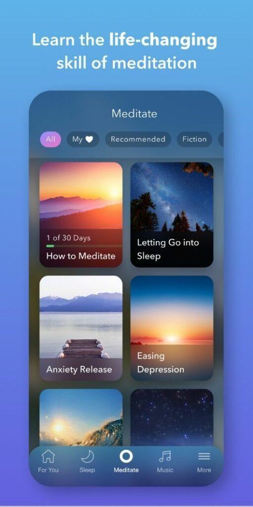 Calm premium features