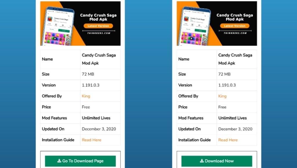 Candy Crush Saga Mod Apk Download