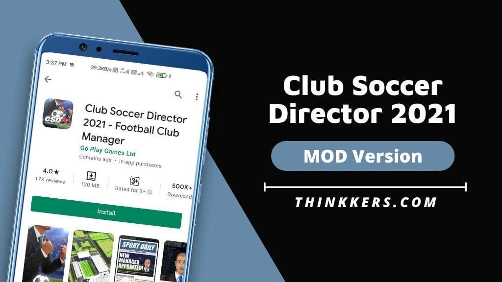 Club Soccer Director 2021 Mod Apk - Copy