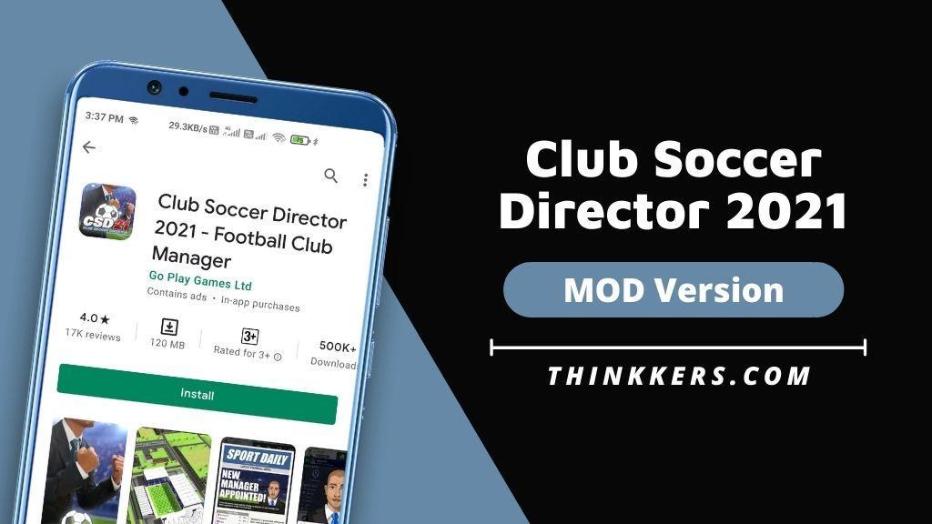 Club Soccer Director 2021 Mod Apk v1.5.4 (Unlimited Money)