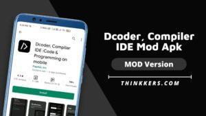 Dcoder Compiler IDE MOD Apk