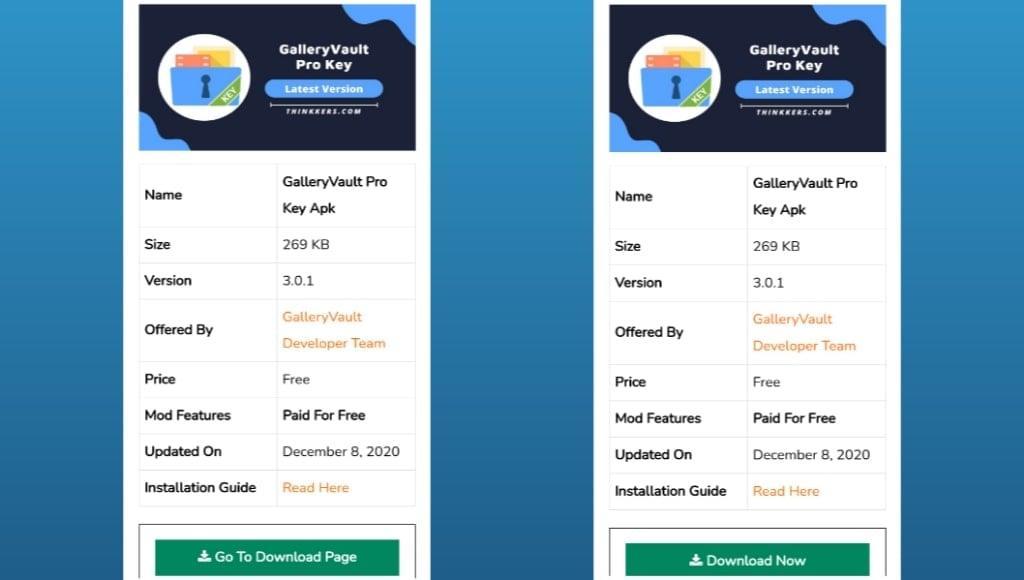 GalleryVault Pro Mod Apk Key