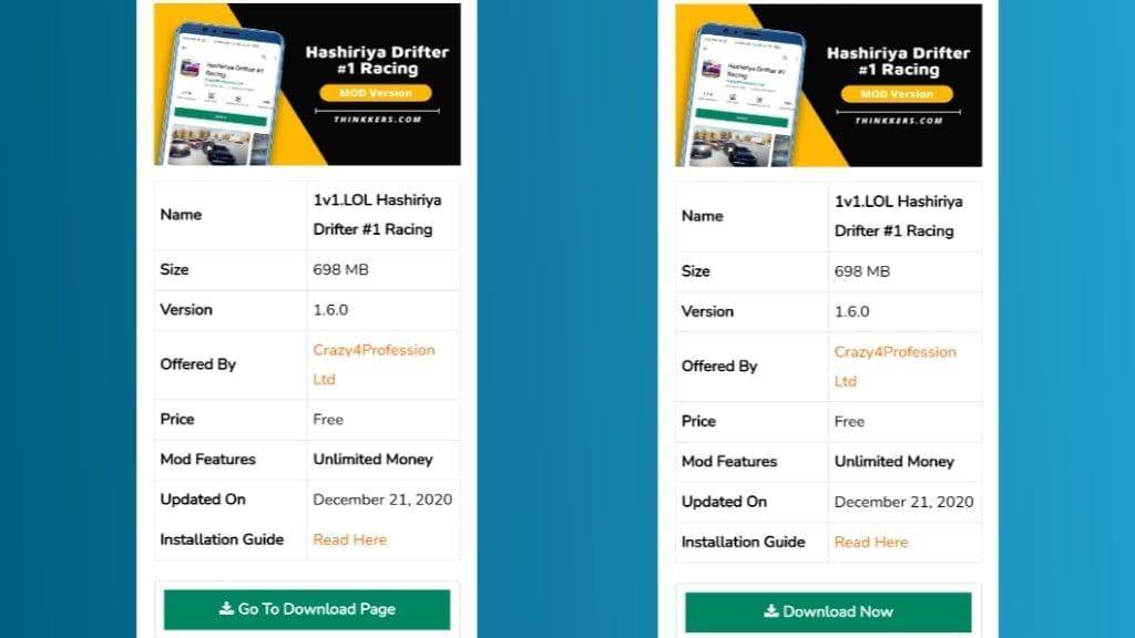 Hashiriya Drifter Mod Apk Download