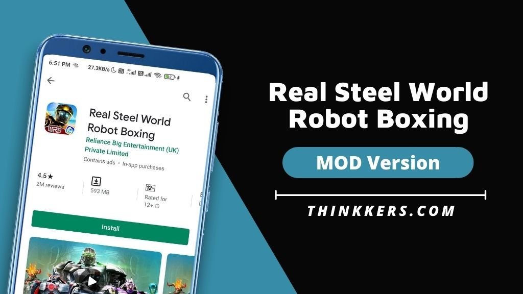 Real Steel World Robot Boxing Mod Apk - Copy