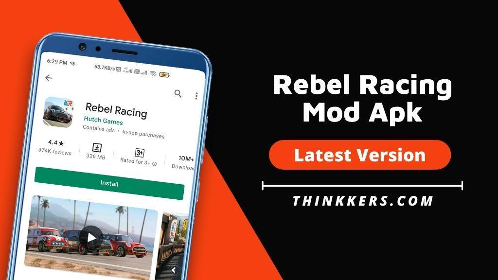 Rebel Racing Mod Apk v1.80.14098 (Unlimited Money)