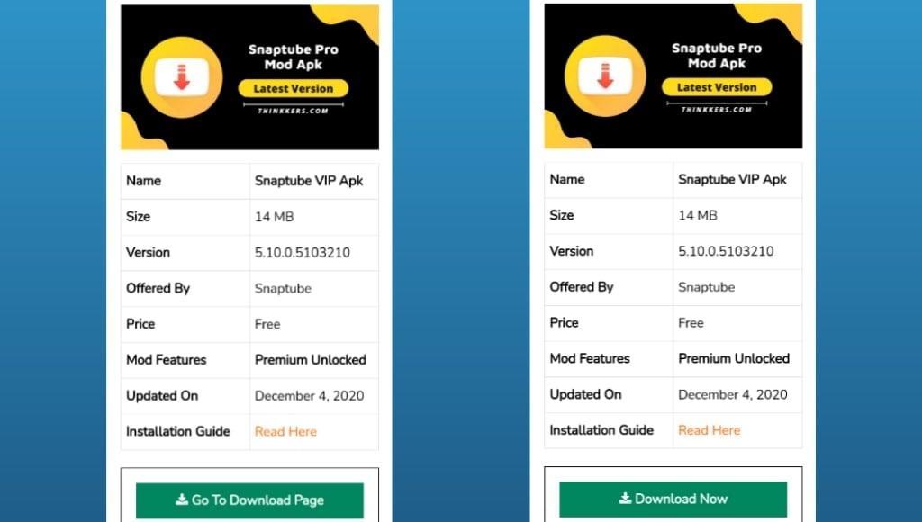 Snaptube Premium Mod Apk