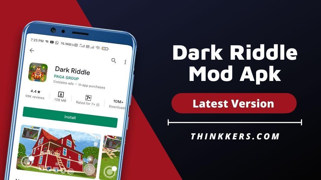 Dark Riddle Mod Apk