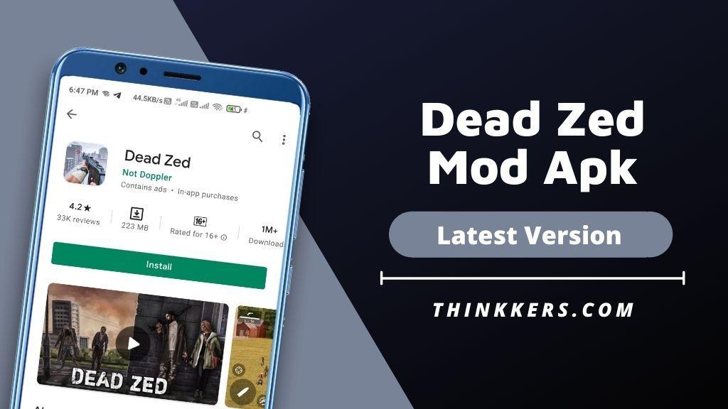Dead Zed Mod Apk - Copy