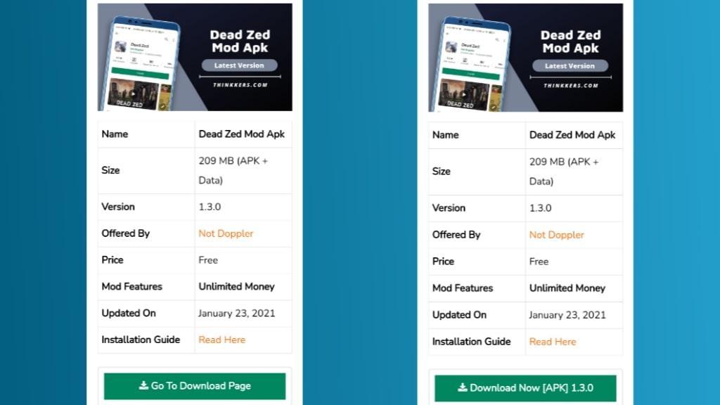Download Dead Zed Mod Apk