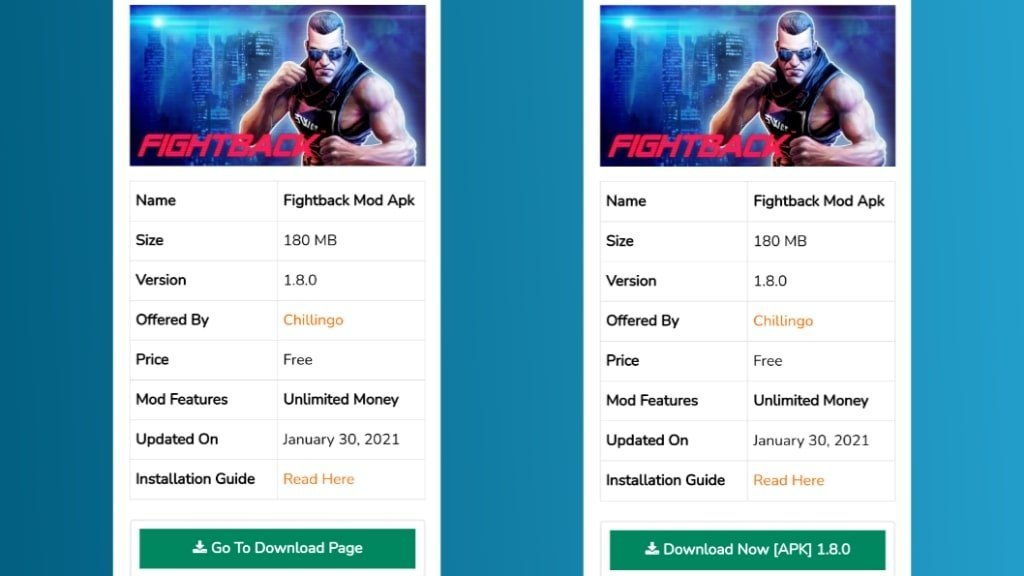 FightBack Mod Apk Download