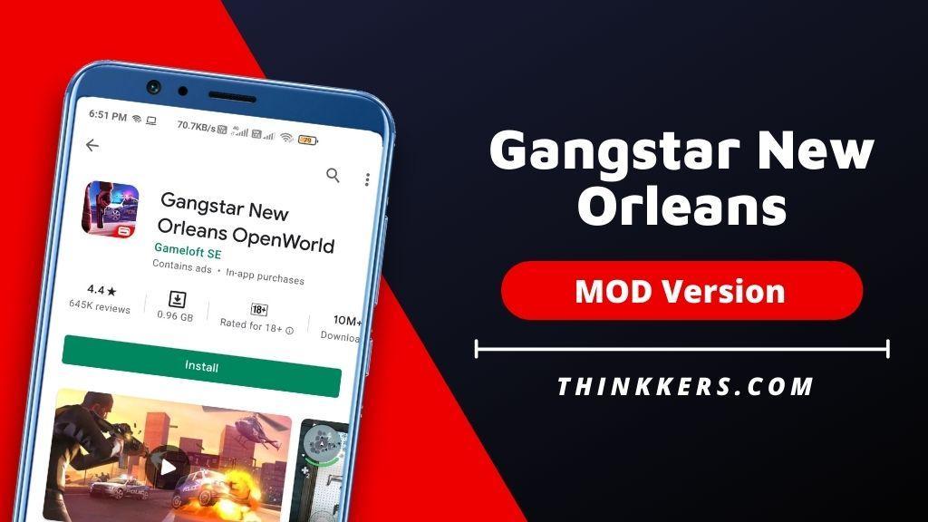Gangstar New Orleans Mod Apk - Copy