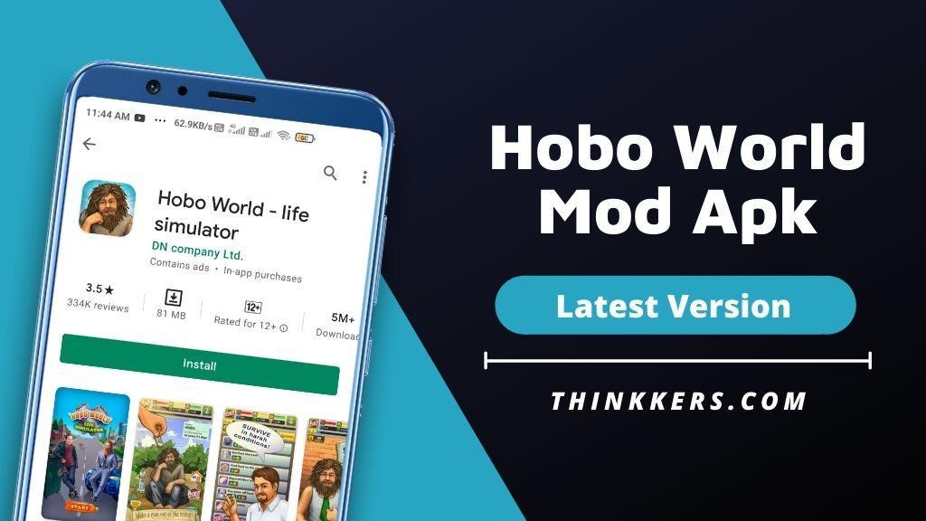 Hobo World Mod Apk v2.15 (Unlimited Money)