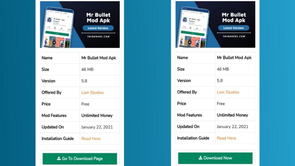 Mr Bullet Mod Apk Download