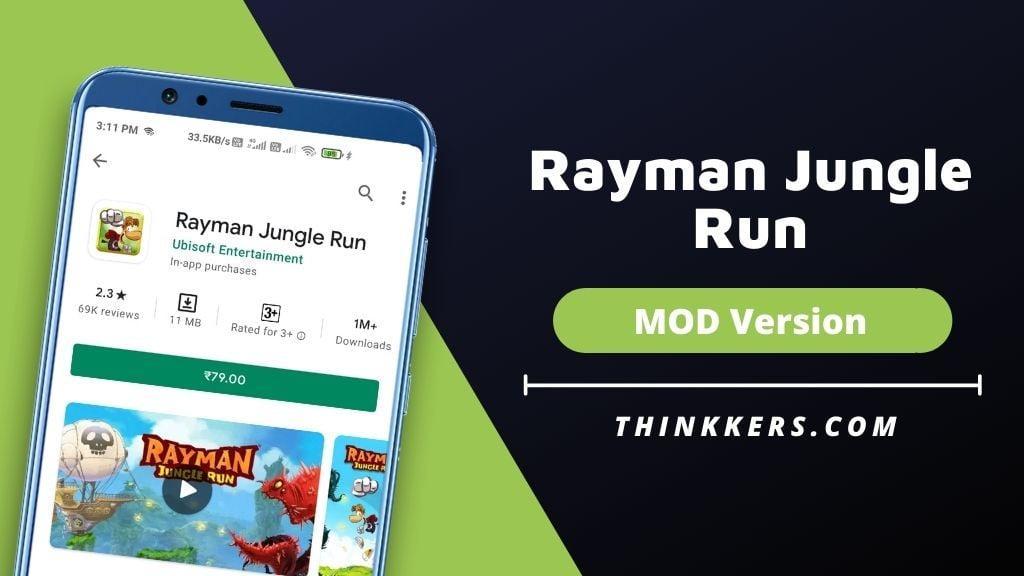 Rayman Jungle Run Mod Apk - Copy