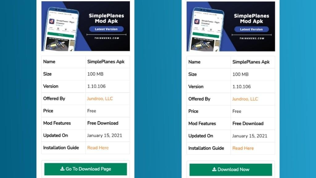 SimplePlanes Mod Apk Download