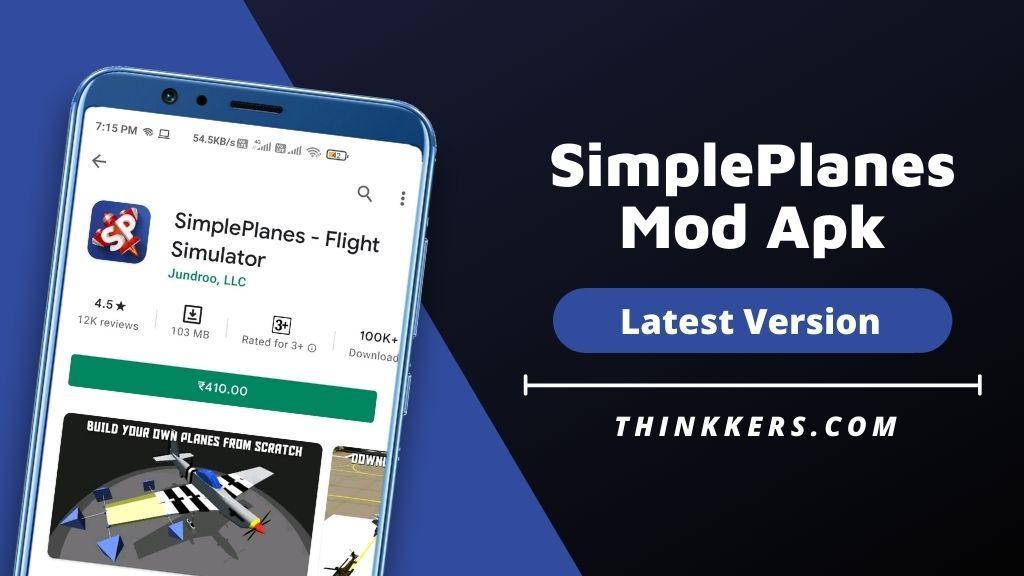SimplePlanes Mod Apk v1.10.106 (Free Download)
