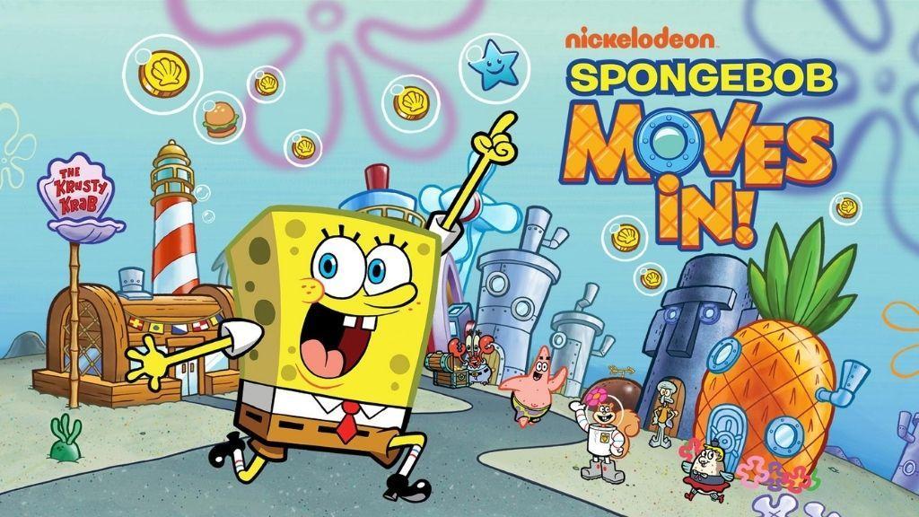 Spongebob is moving