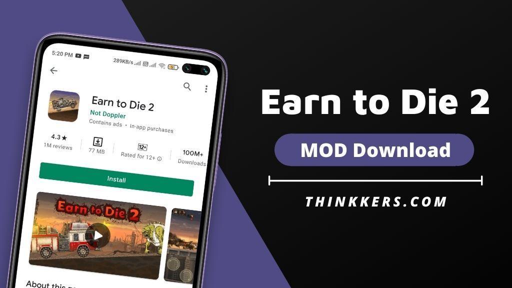 Earn to Die 2 Mod Apk - Copy