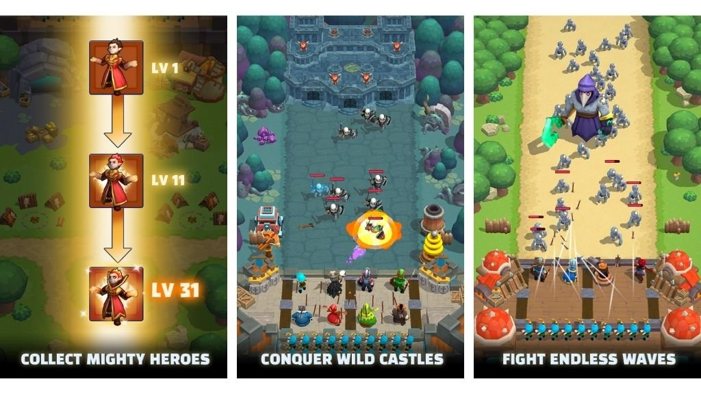 Features Of Wild Castle