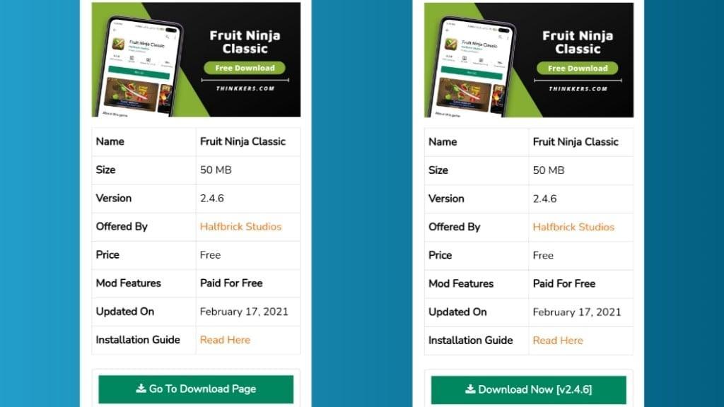 Download Fruit Ninja Classic Apk