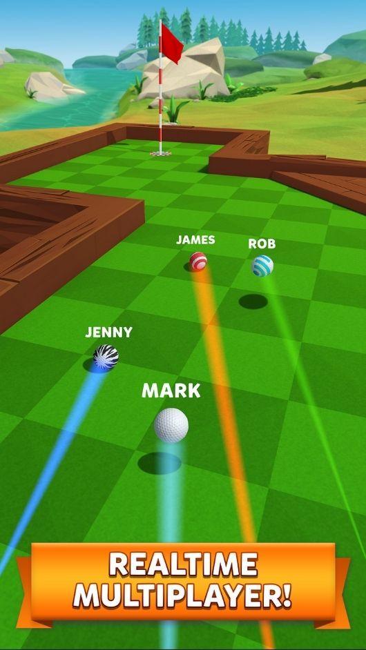 Golf Battle unlocked