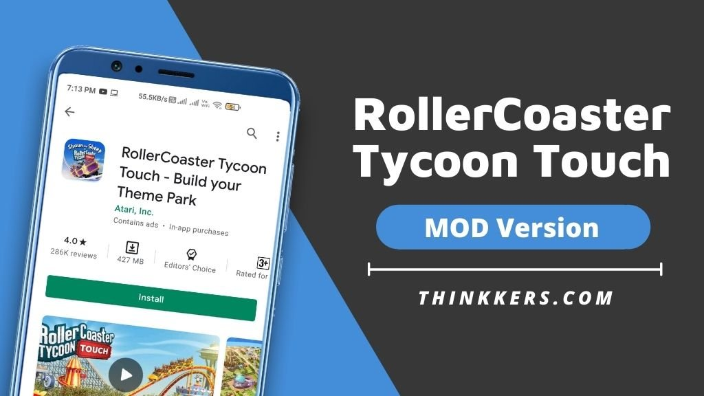 RollerCoaster Tycoon Touch Mod Apk - Copy