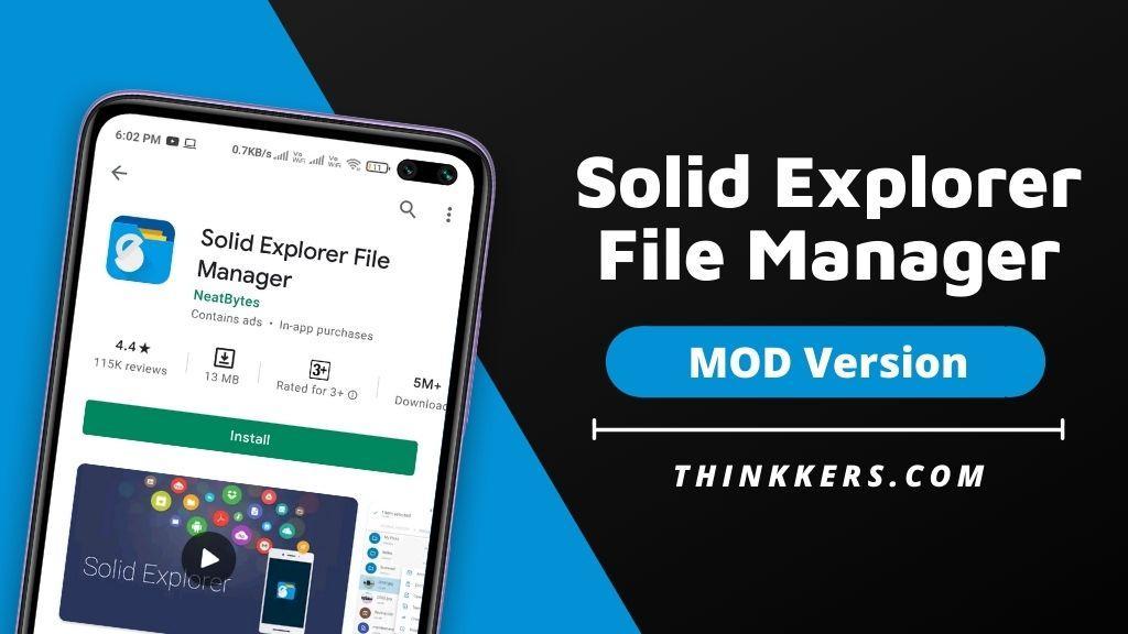 Solid Explorer File Manager Pro Apk