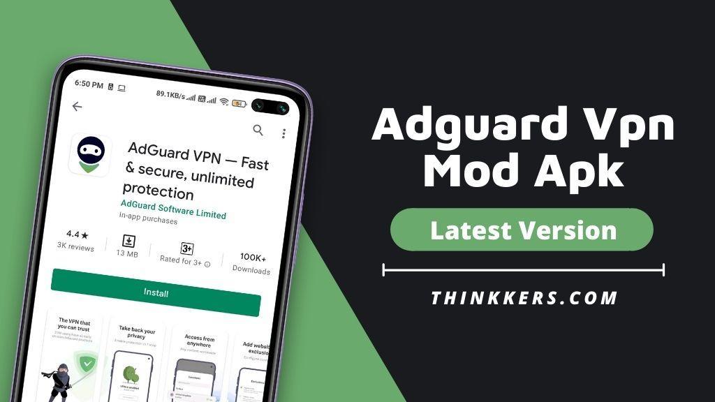 Adguard Vpn Mod Apk
