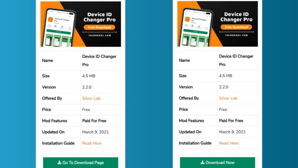 Download Device ID Changer Pro