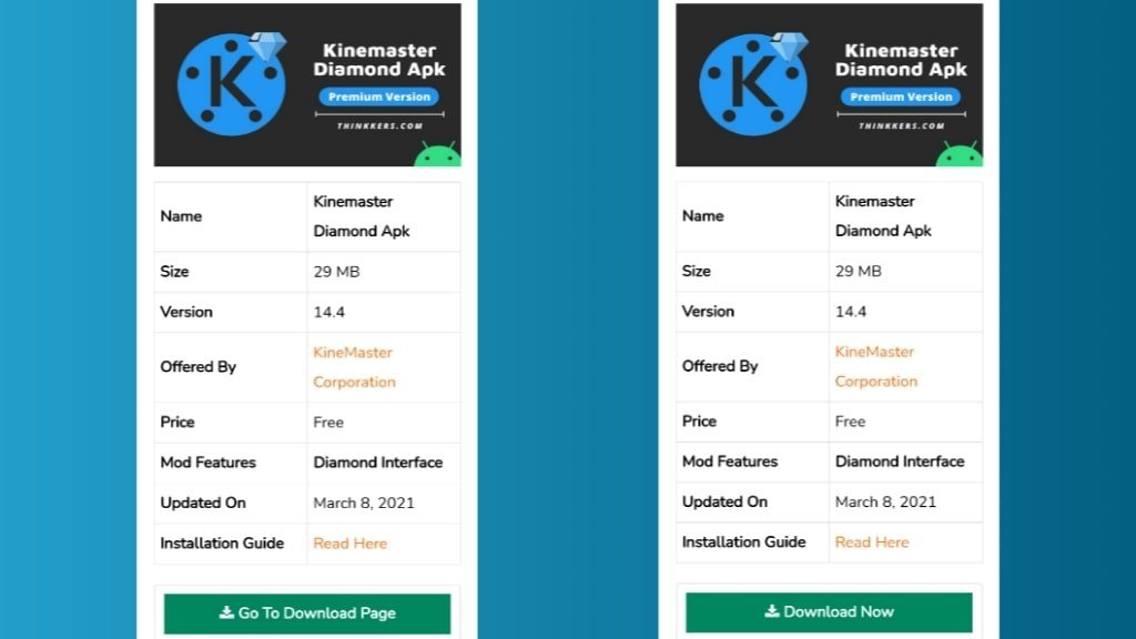 Download Kinemaster Diamond Apk
