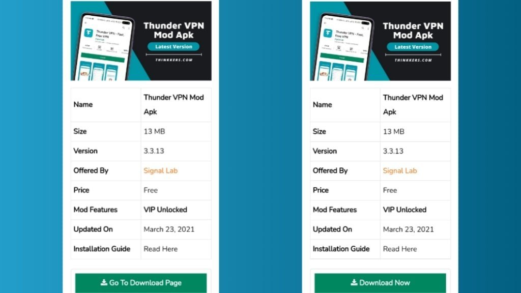 Thunder VPN VIP Mod Apk