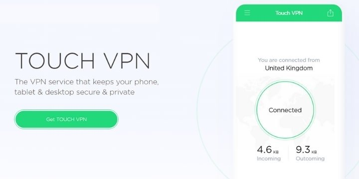 Touch VPN Mod Apk v1.9.14 (Elite Unlocked)