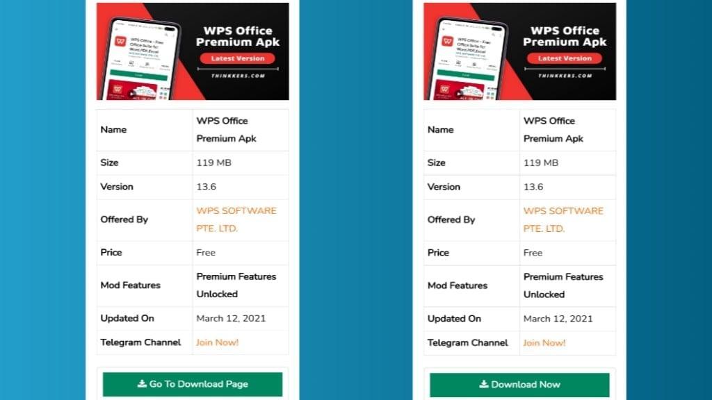 WPS Office Pro Apk