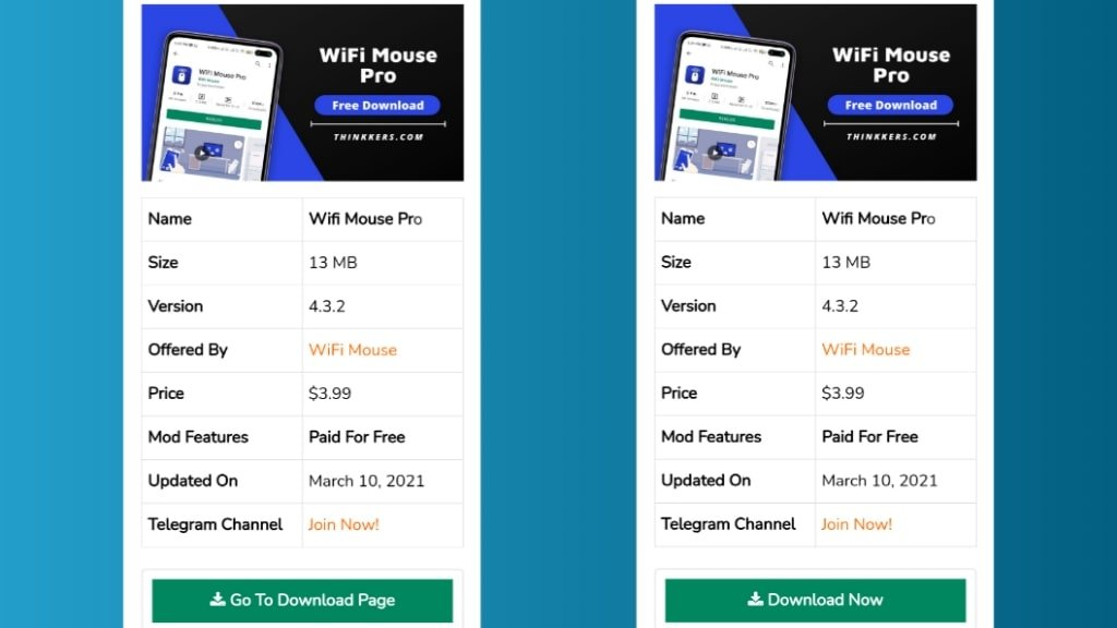 Wifi Mouse Pro Mod Apk