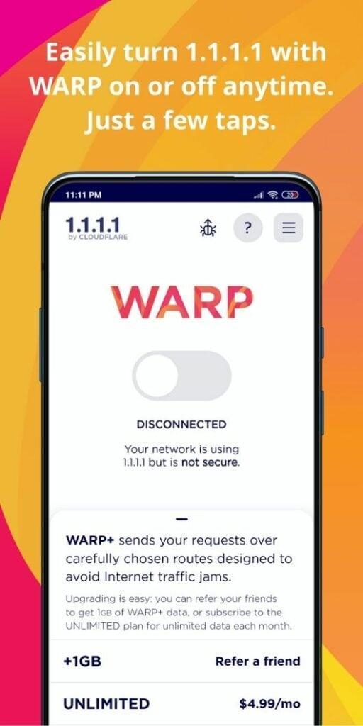 1.1.1.1 VPN vip apk