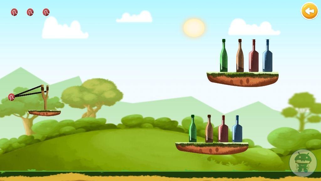 Bottle Shooting Game - 2