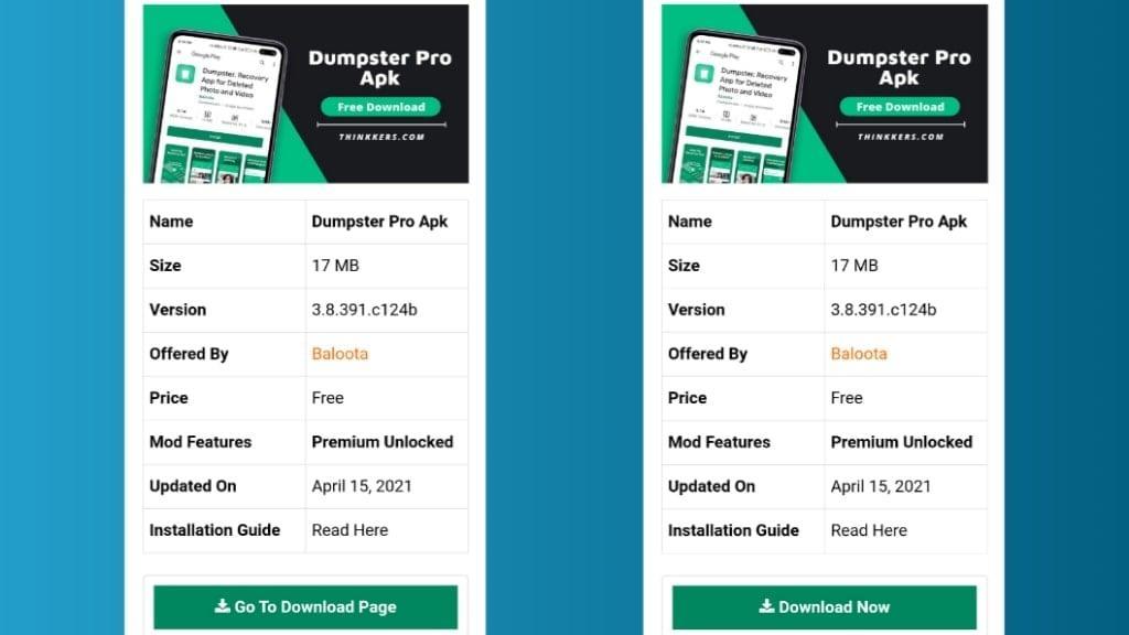 Dumpster Premium Apk