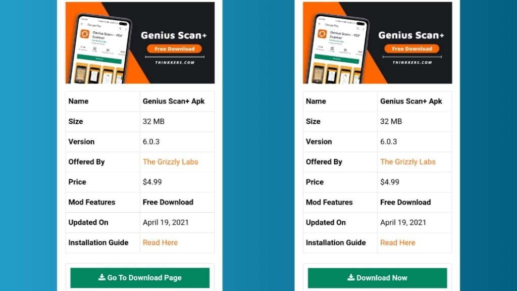 Genius Scan+ Pro Apk