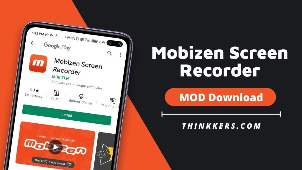 Mobizen Screen Recorder Mod Apk