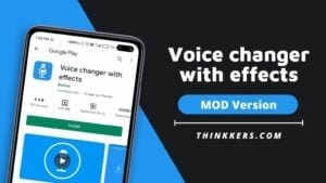 Voice changer with effects Mod Apk