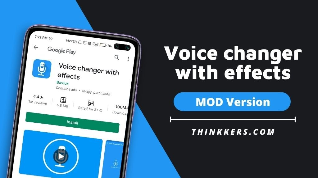 Voice changer with effects Mod Apk - Copy