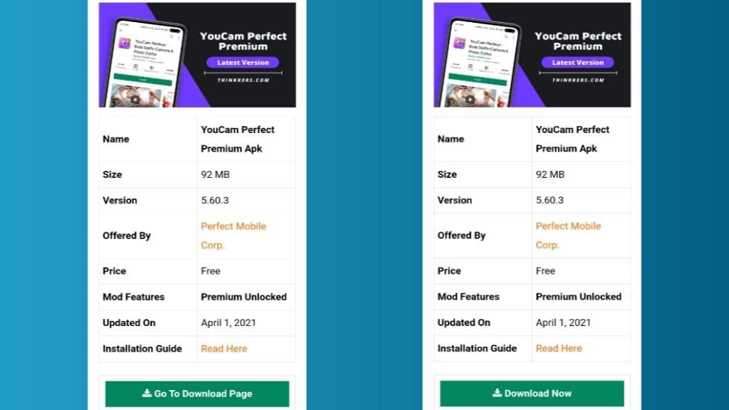 YouCam Perfect Premium Mod Apk