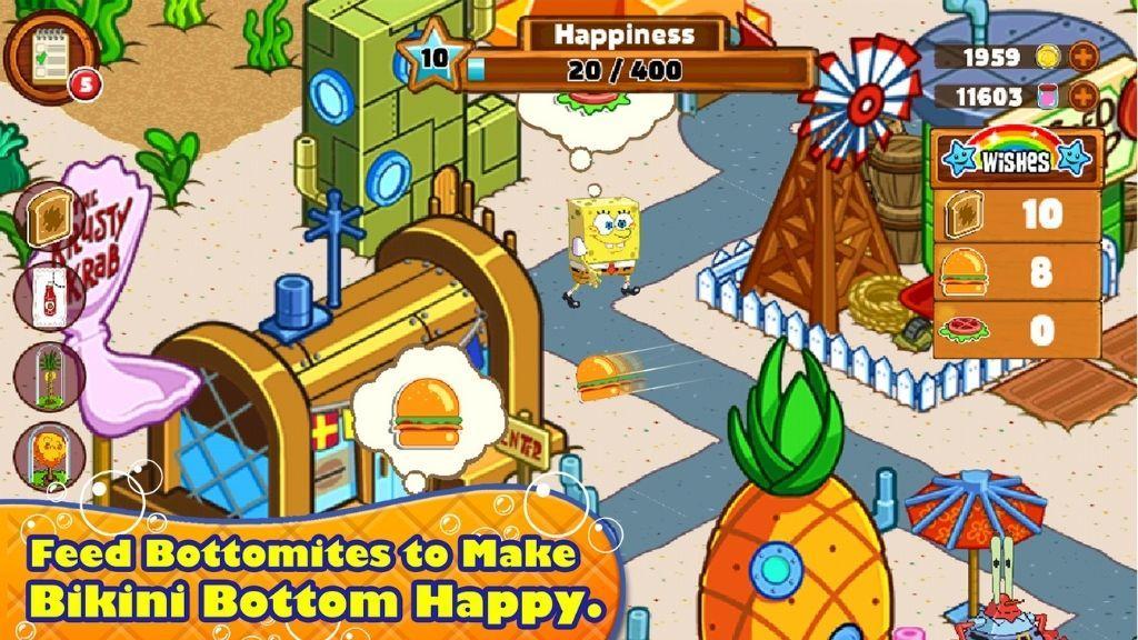 SpongeBob Moves In game
